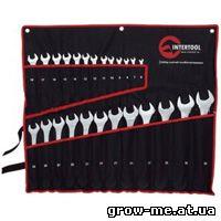 Набор ключей 25ед. 6-32мм Cr-V Intertool HT-1200