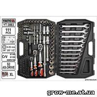 YATO YT-3883 набор инструментов 111ед.